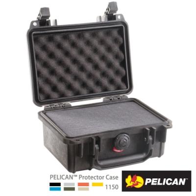 美國 PELICAN 1150 氣密箱-含泡棉(黑)