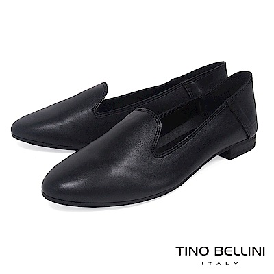 Tino Bellini 義大利進口經典臘感樂福鞋 _ 黑
