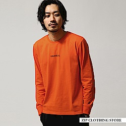 LOGO印花長袖T恤(7色) ZIP日本男裝