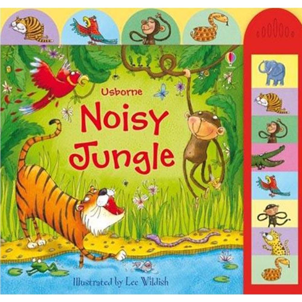 Noisy Jungle 熱鬧叢林精裝硬頁有聲書
