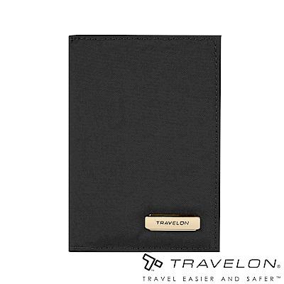 Travelon美國防盜包 RFID BLOCKING個資防盜護照套TL1-43400黑