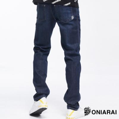 鬼洗 BLUE WAY –COOL MAX低腰直筒褲(水洗藍)