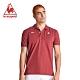 法國公雞牌短袖POLO衫 LOJ2114979-男-暗紅 product thumbnail 1