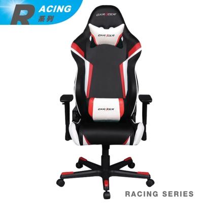 【DXRACER】急速狂飆 Racing系列 OH/RW288/NRW 電競賽車椅(黑紅白)