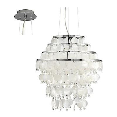 EGLO歐風燈飾 奢華水晶玻璃大吊燈(不含燈泡)