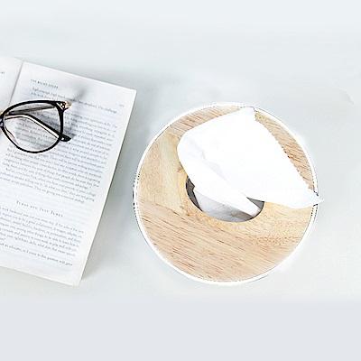 E.City_北歐風圓形捲筒紙巾盒