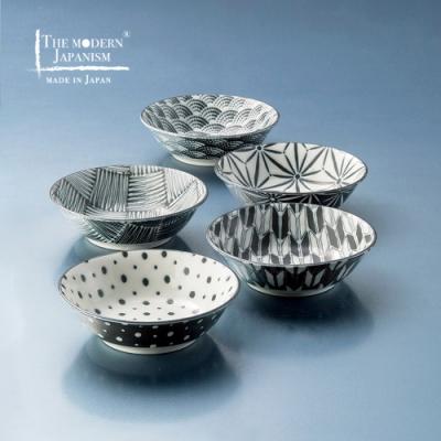 有種創意 日本美濃燒 - 小紋小缽組13.5cm (5件式)