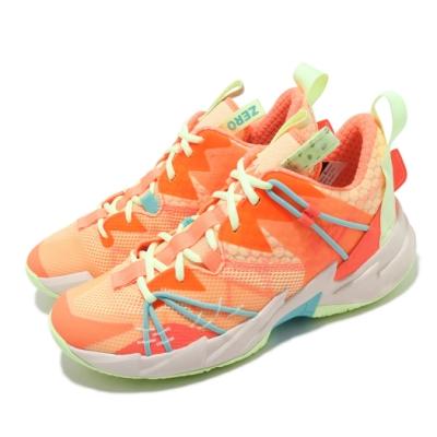 Nike 籃球鞋 Why Not Zer0.3 運動 男鞋 避震 包覆 明星款 喬丹 支撐 球鞋 橘 黃 CK6612800