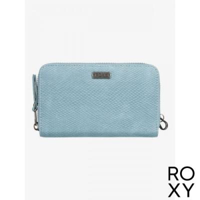 【ROXY】GET DOWN 皮夾/手拿包 灰綠