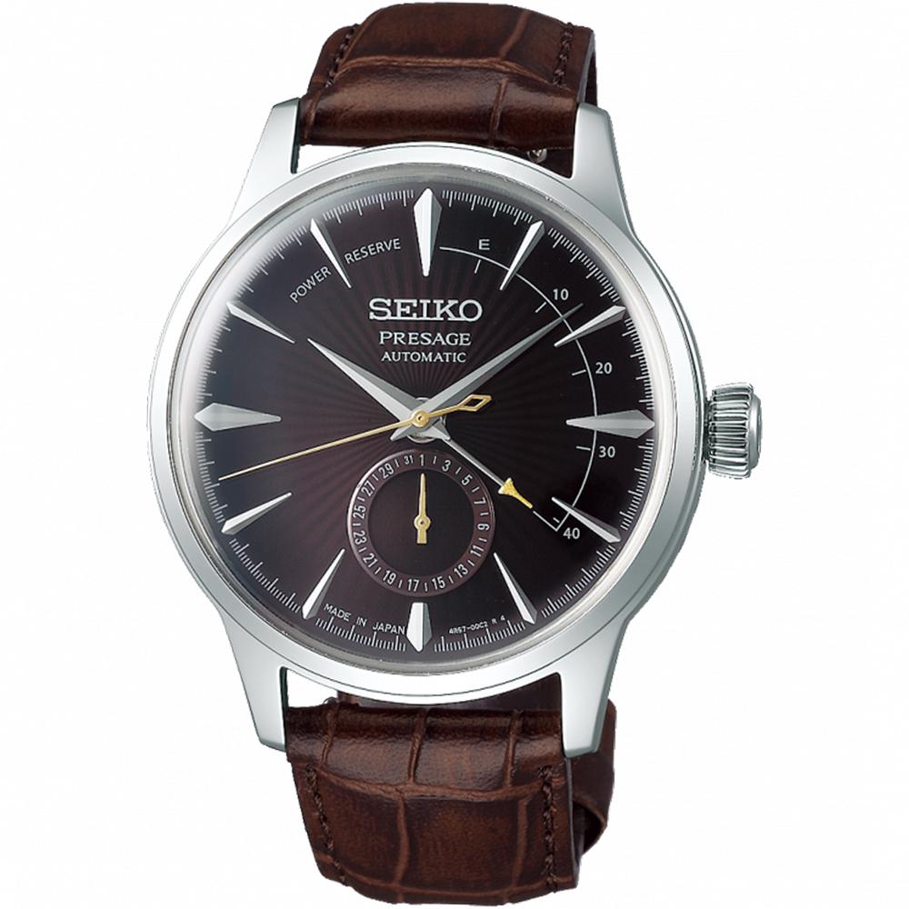 SEIKO精工Presage調酒師動力儲存顯示機械錶(SSA393J1)