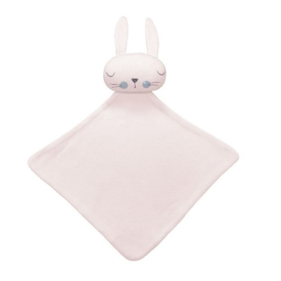 澳洲Mister Fly嬰幼兒安撫巾-粉紅兔