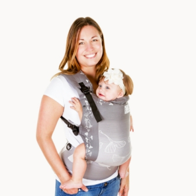 加拿大 Chimparoo Trek 嬰兒揹帶-緹花版 -銀杏飛舞