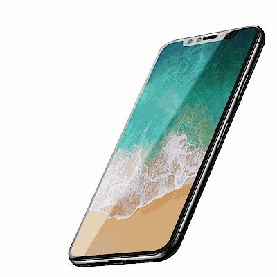 iPhone X/XS 軟邊 滿版 透明 9H 鋼化玻璃膜