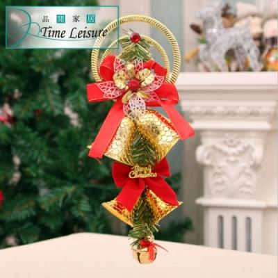 Time Leisure 裝飾風鈴/聖誕佈置掛飾(紅色耶誕)