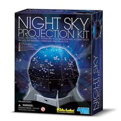 4M創意星空燈Create A Night Sky星座燈00-13233露營燈Projection Kit天文星象科學教具