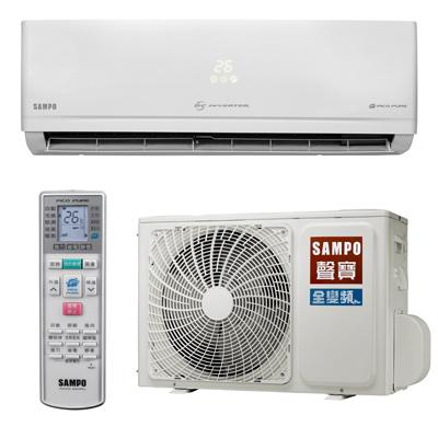 SAMPO聲寶3-5坪頂級變頻冷專分離式冷氣AU-PC22D1/AM-PC22D1