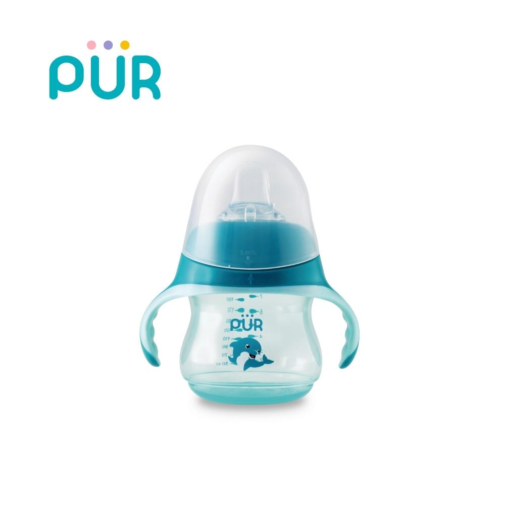 PUR 海豚貝多芬-學習水杯(鴨嘴型)230ml