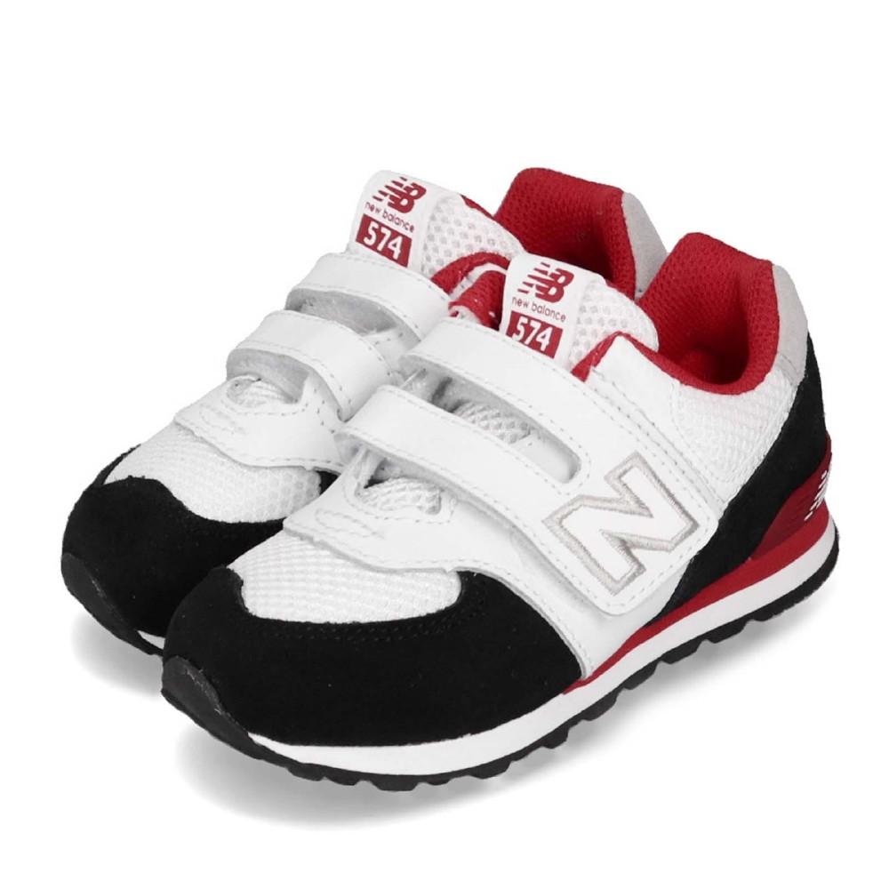 New Balance 慢跑鞋 IV574NSBW 寬楦 童鞋