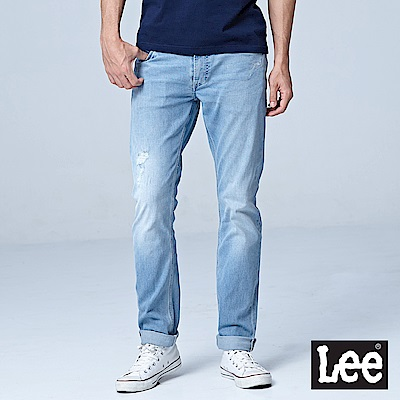 Lee 低腰合身小直筒牛仔褲/DC