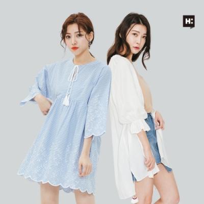 [時時樂] H:CONNECT 韓國品牌 女裝 -精選浪漫洋裝 (快)