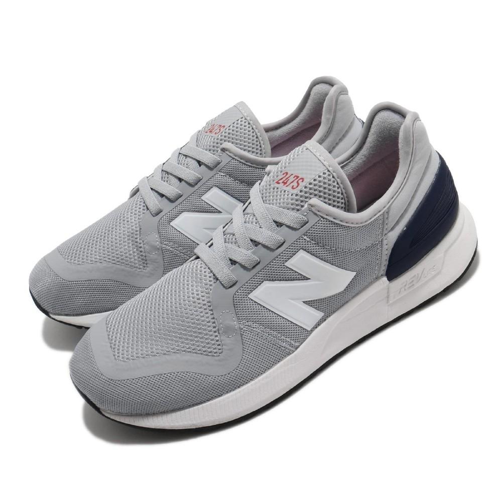 New Balance 休閒鞋 YH247SC3 W 寬楦 運動 童鞋 紐巴倫 基本款 簡約 中大童 穿搭 灰 白 YH247SC3W