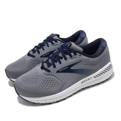 Brooks 慢跑鞋 Beast 20 4E 寬楦 運動 男鞋