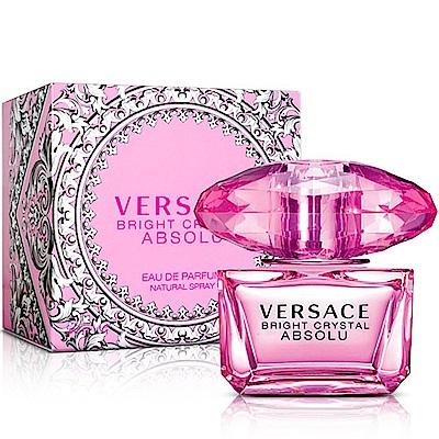(即期品)Versace凡賽斯 絕對‧香戀水晶女性淡香精50ml