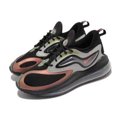 Nike 休閒鞋 Air Max Zephyr EOI 男鞋 海外限定 大氣墊 反光 避震 運動 球鞋 黑 銀 CV8834-001