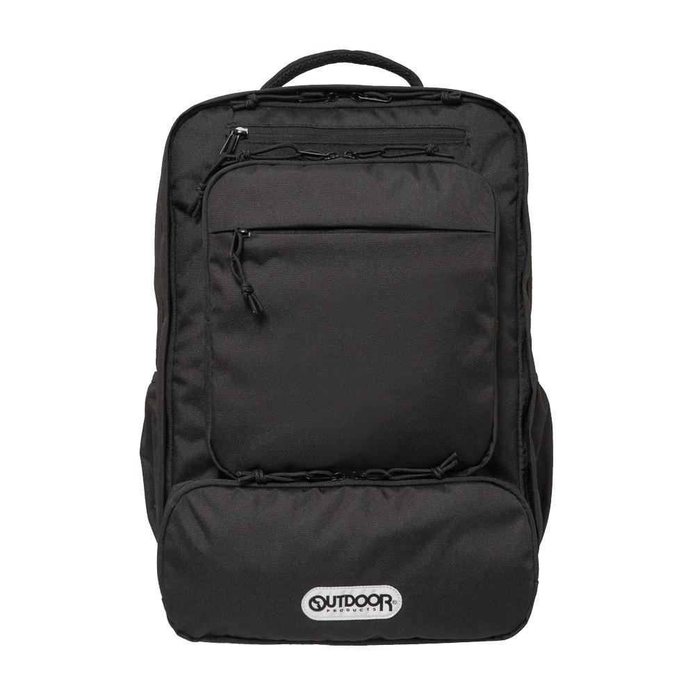 【OUTDOOR】悠遊寰旅-15.6吋電腦後背包-黑色 OD191116BK