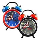 Disney 迪士尼 / 漫威 美國隊長 雙鈴 超大鈴聲 指針鬧鐘 - 灰黑/藍紅