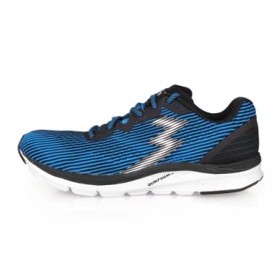 361度 男 慢跑鞋-2E 361° 藍黑白