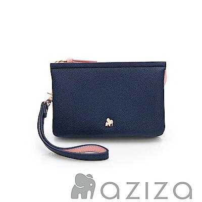 AZIZA  BERYL 手拎包(小)-藍