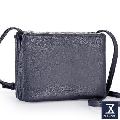 74盎司 Fashion三層斜背包[LG-894-FA-W]深藍