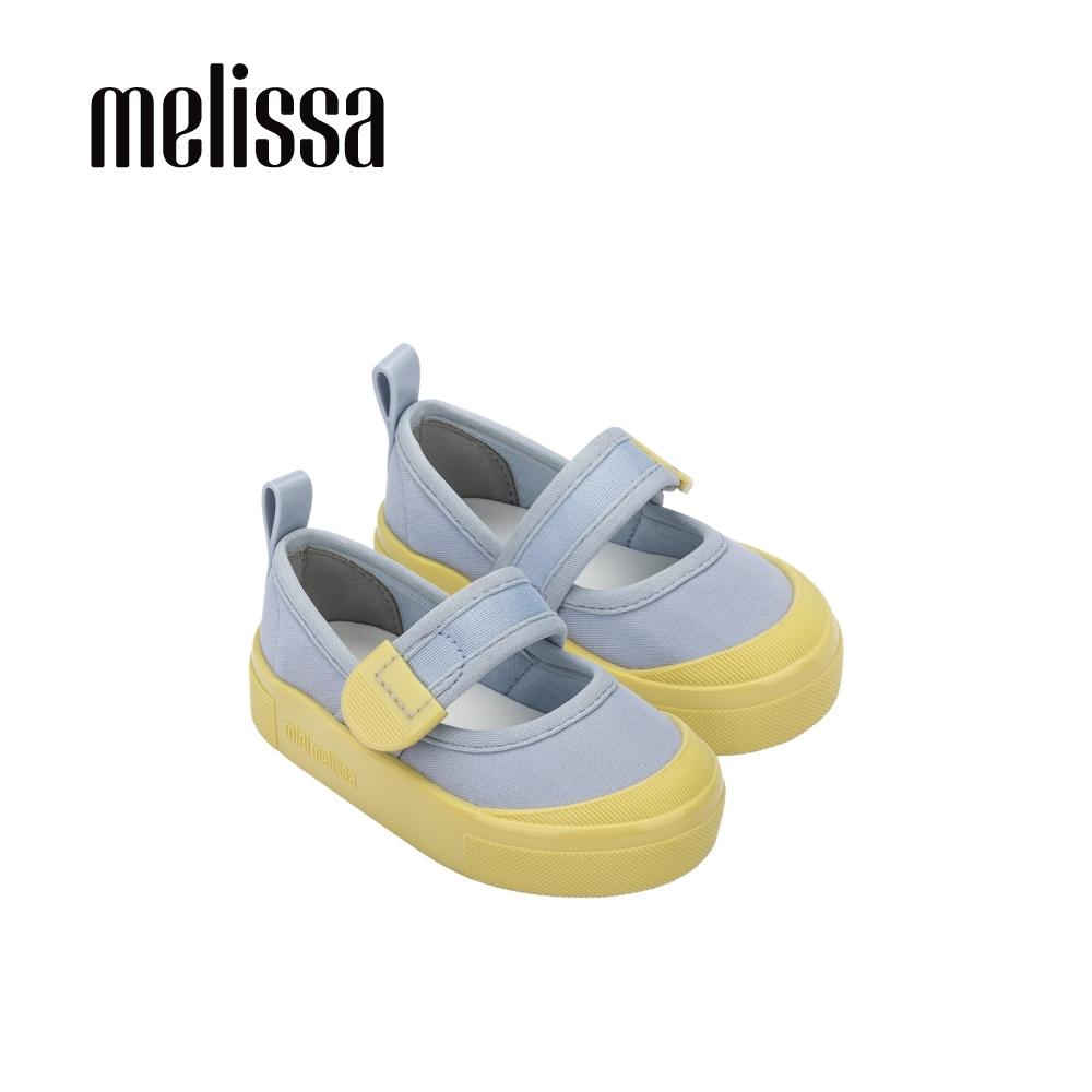 Melissa Basic經典撞色娃娃鞋 寶寶款-黃