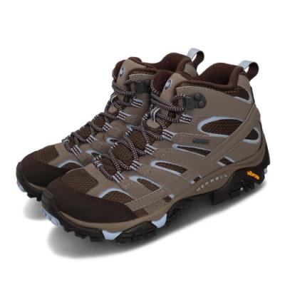 Merrell 戶外鞋 Moab 2 Mid GTX 運動 女鞋