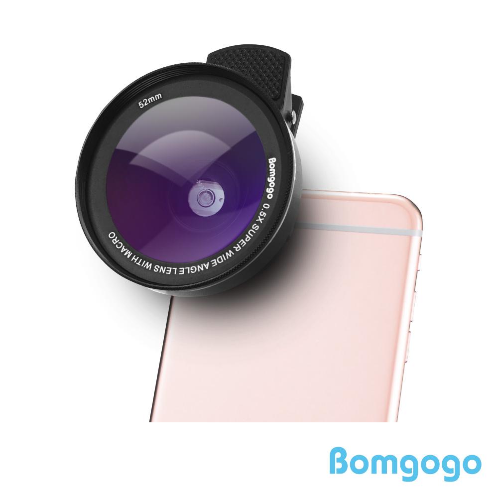 Bomgogo Govision L5 廣角微距手機鏡頭組(52mm)