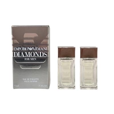 GIORGIO ARMANI亞曼尼 鑽石男性淡香水 小香4mlx2入