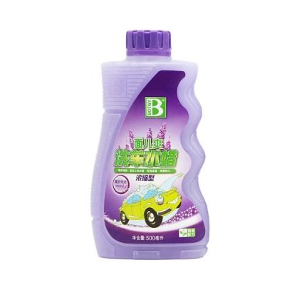 【BOTNY汽車美容】泡沫洗車蠟水500ML 薰衣草香 濃縮型 洗車場 洗車 打蠟 泡沫