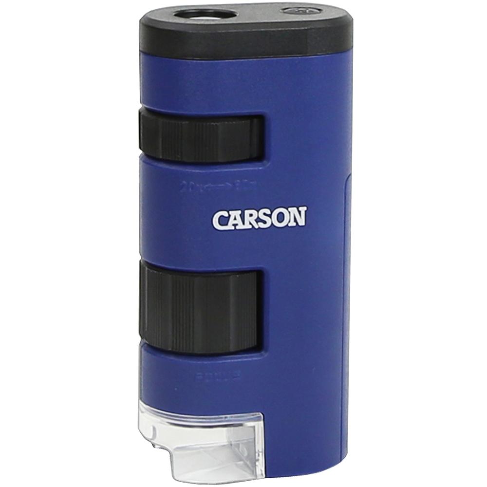 《CARSON》LED口袋型顯微鏡(20x-60x)