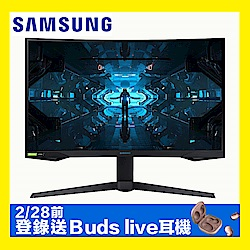 SAMSUNG C27G75TQSC 27型 1000R曲面電競螢幕 2K高解析