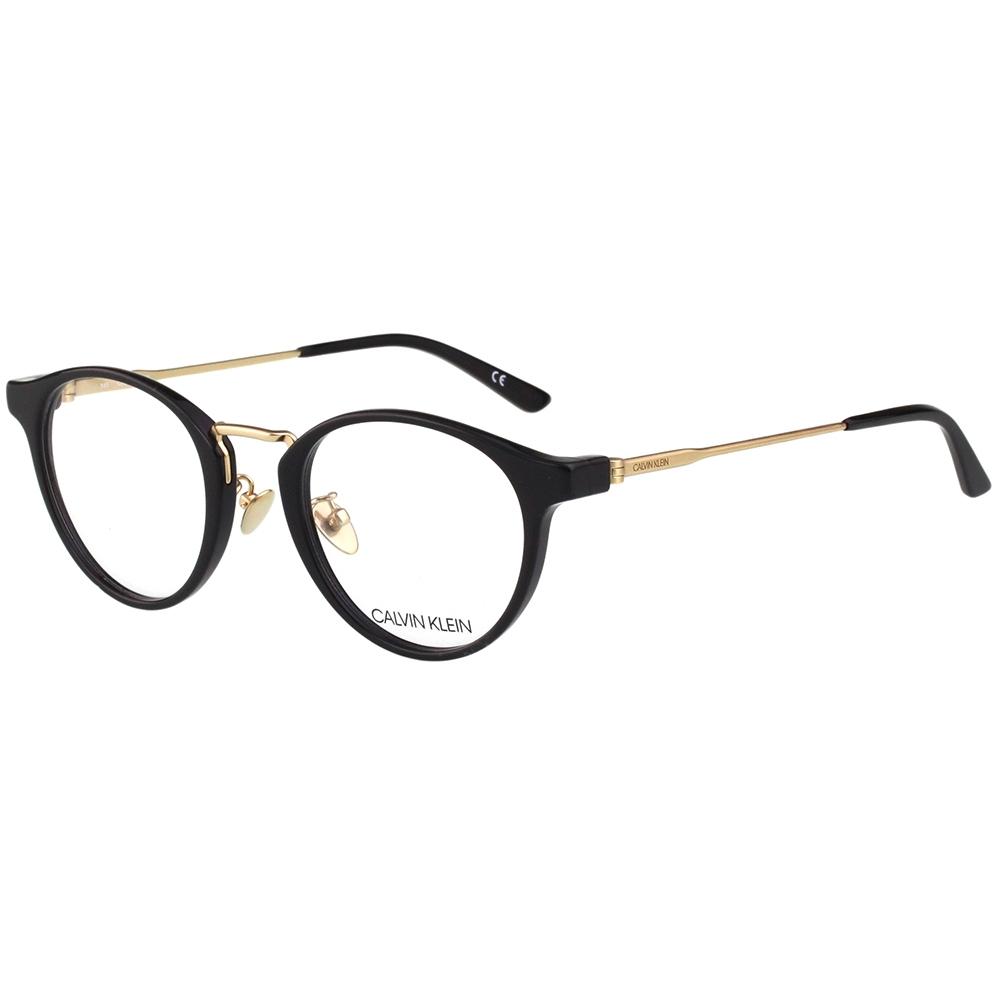 Calvin Klein 復古 光學眼鏡 (黑色)CK18713A