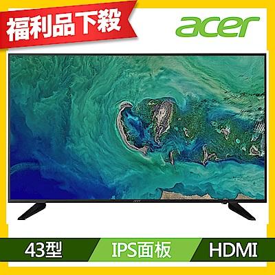 Acer DM431K 43型 IPS 4K高解析HDR電腦螢幕 福利品