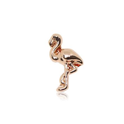 HOURRAE 獨立自我 紅鶴 人氣玫瑰金系列 小飾品