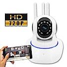 監視者 360度全景紅外線三天線WiFi網路監控攝影機