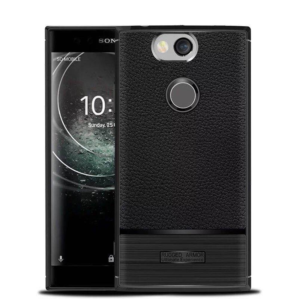 IN7 荔枝紋系列 Sony XA2 Plus (6吋) 硅膠TPU保護殼