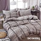 BEDDING-活性印染3.5尺單人薄床包二件組-幸福家園