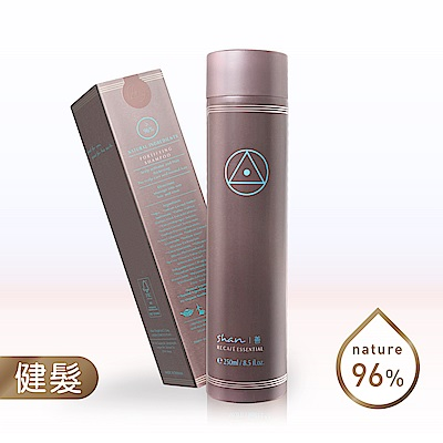 shan善 咖啡因健髮洗髮菁250ml