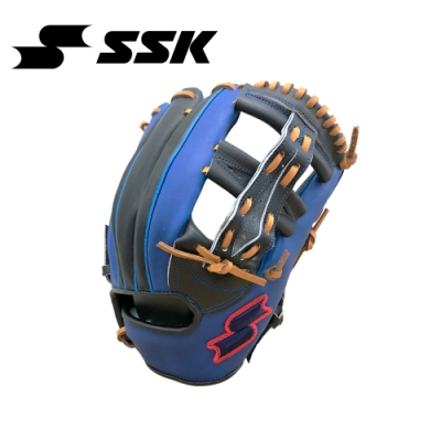 SSK  KPG250 SERIES 棒壘手套(藍紅標)  黑/寶藍  KPG250-9063A