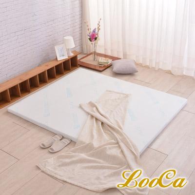 LooCa 水漾天絲專利HT 5cm舒眠乳膠床墊-單大3.5尺