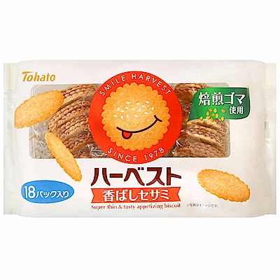 東鳩 微笑薄餅-芝麻(225g)